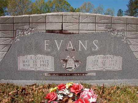 EVANS, CATHERINE - Calhoun County, Arkansas | CATHERINE EVANS - Arkansas Gravestone Photos