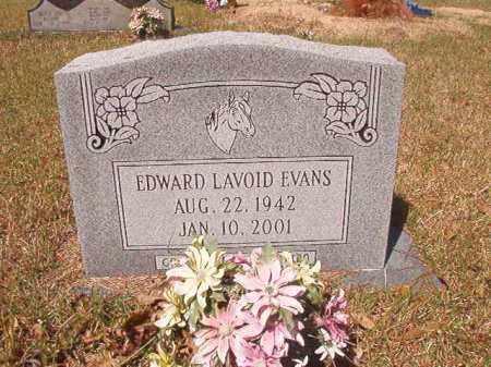 EVANS, EDWARD LAVOID - Calhoun County, Arkansas   EDWARD LAVOID EVANS - Arkansas Gravestone Photos