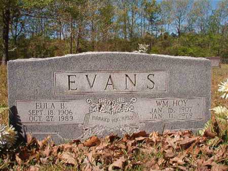 EVANS, EULA B - Calhoun County, Arkansas | EULA B EVANS - Arkansas Gravestone Photos