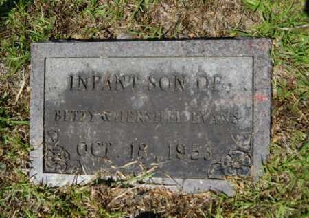 EVANS, INFANT SON - Calhoun County, Arkansas | INFANT SON EVANS - Arkansas Gravestone Photos