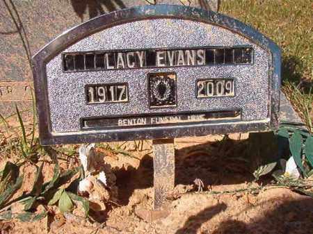 EVANS, LACY L (OBIT) - Calhoun County, Arkansas | LACY L (OBIT) EVANS - Arkansas Gravestone Photos