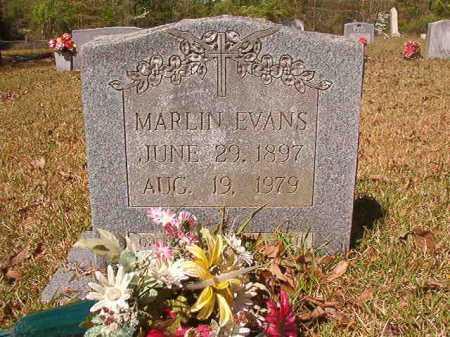 EVANS, MARLIN - Calhoun County, Arkansas | MARLIN EVANS - Arkansas Gravestone Photos