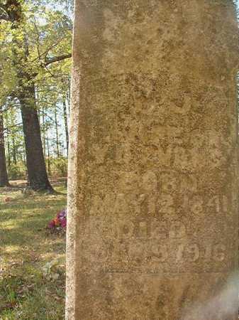 EVANS, M J - Calhoun County, Arkansas | M J EVANS - Arkansas Gravestone Photos