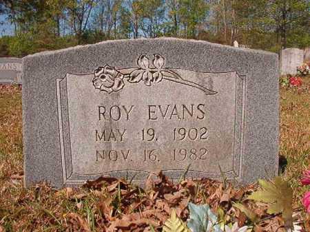 EVANS, ROY - Calhoun County, Arkansas   ROY EVANS - Arkansas Gravestone Photos