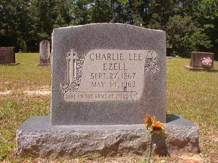 EZELL, CHARLIE LEE - Calhoun County, Arkansas | CHARLIE LEE EZELL - Arkansas Gravestone Photos
