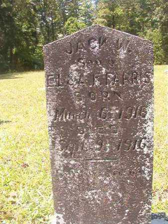 FARRIS, JACK W - Calhoun County, Arkansas | JACK W FARRIS - Arkansas Gravestone Photos