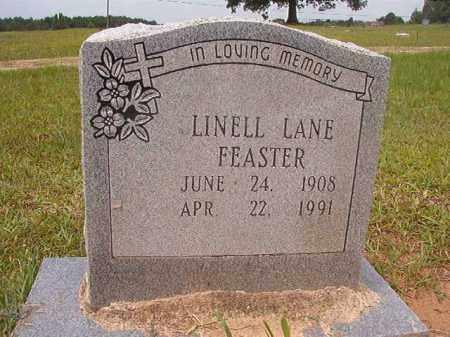 FEASTER, LINELL LANE - Calhoun County, Arkansas   LINELL LANE FEASTER - Arkansas Gravestone Photos