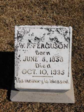 FERGUSON, W F - Calhoun County, Arkansas   W F FERGUSON - Arkansas Gravestone Photos