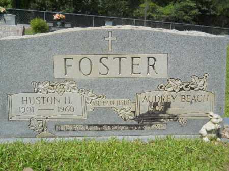 FOSTER, HUSTON H - Calhoun County, Arkansas | HUSTON H FOSTER - Arkansas Gravestone Photos
