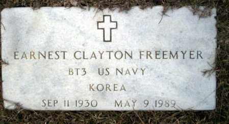 FREEMYER  (VETERAN KOR), EARNEST CLAYTON - Calhoun County, Arkansas | EARNEST CLAYTON FREEMYER  (VETERAN KOR) - Arkansas Gravestone Photos