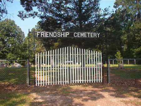 *FRIENDSHIP CEMETERY GATE,  - Calhoun County, Arkansas |  *FRIENDSHIP CEMETERY GATE - Arkansas Gravestone Photos