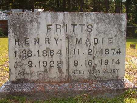 FRITTS, HENRY - Calhoun County, Arkansas | HENRY FRITTS - Arkansas Gravestone Photos