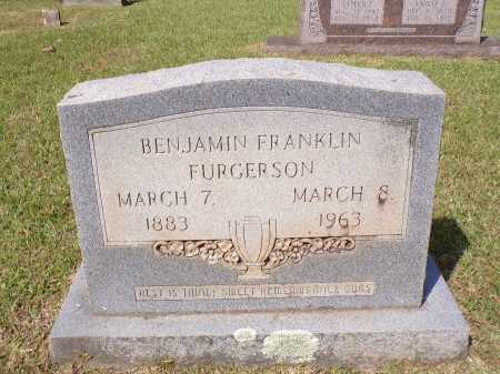 FURGERSON, BENJAMIN FRANKLIN - Calhoun County, Arkansas | BENJAMIN FRANKLIN FURGERSON - Arkansas Gravestone Photos