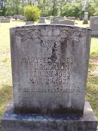 FURGERSON, MARY ELIZABETH - Calhoun County, Arkansas | MARY ELIZABETH FURGERSON - Arkansas Gravestone Photos