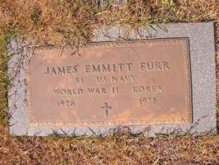 FURR (VETERAN 2 WARS), JAMES EMMITT - Calhoun County, Arkansas | JAMES EMMITT FURR (VETERAN 2 WARS) - Arkansas Gravestone Photos