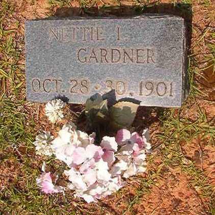 GARDNER, NETTIE I - Calhoun County, Arkansas   NETTIE I GARDNER - Arkansas Gravestone Photos