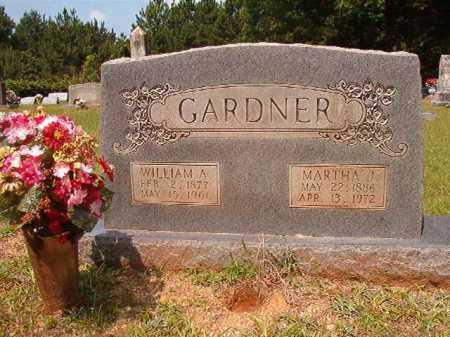GARDNER, WILLIAM A - Calhoun County, Arkansas | WILLIAM A GARDNER - Arkansas Gravestone Photos