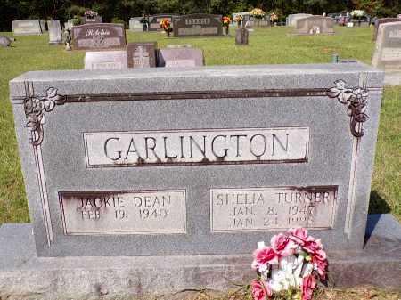 TURNER GARLINGTON, SHEILA - Calhoun County, Arkansas | SHEILA TURNER GARLINGTON - Arkansas Gravestone Photos