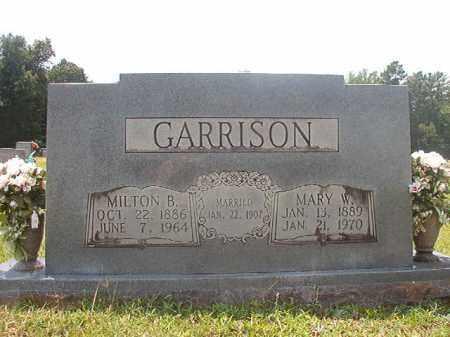 GARRISON, MILTON B - Calhoun County, Arkansas | MILTON B GARRISON - Arkansas Gravestone Photos