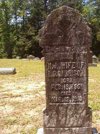 GARRISON, N J - Calhoun County, Arkansas   N J GARRISON - Arkansas Gravestone Photos