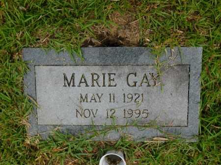GAY, MARIE - Calhoun County, Arkansas | MARIE GAY - Arkansas Gravestone Photos