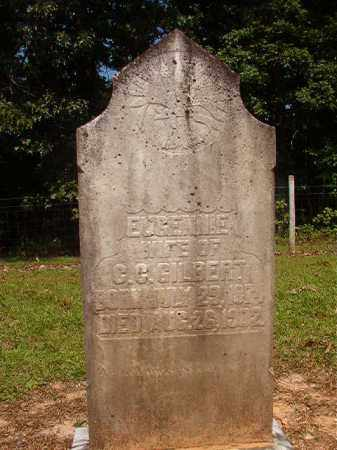 GILBERT, EUGENNIE - Calhoun County, Arkansas   EUGENNIE GILBERT - Arkansas Gravestone Photos