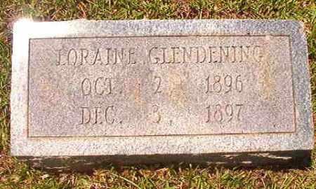 GLENDENING, LORAINE - Calhoun County, Arkansas | LORAINE GLENDENING - Arkansas Gravestone Photos