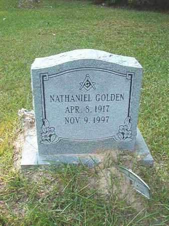 GOLDEN, NATHANIEL - Calhoun County, Arkansas | NATHANIEL GOLDEN - Arkansas Gravestone Photos