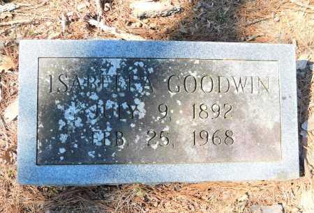 GOODWIN, ISABELLA - Calhoun County, Arkansas   ISABELLA GOODWIN - Arkansas Gravestone Photos