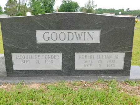GOODWIN, JR, ROBERT LUCIAN - Calhoun County, Arkansas   ROBERT LUCIAN GOODWIN, JR - Arkansas Gravestone Photos