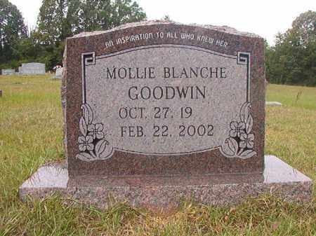 GOODWIN, MOLLIE BLANCHE - Calhoun County, Arkansas   MOLLIE BLANCHE GOODWIN - Arkansas Gravestone Photos