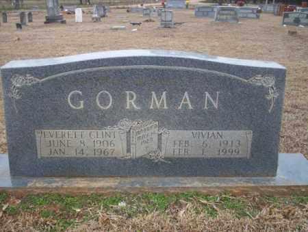 GORMAN, VIVIAN - Calhoun County, Arkansas   VIVIAN GORMAN - Arkansas Gravestone Photos
