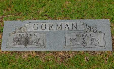 GORMAN, GEORGE W - Calhoun County, Arkansas | GEORGE W GORMAN - Arkansas Gravestone Photos