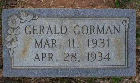 GORMAN, GERALD - Calhoun County, Arkansas | GERALD GORMAN - Arkansas Gravestone Photos