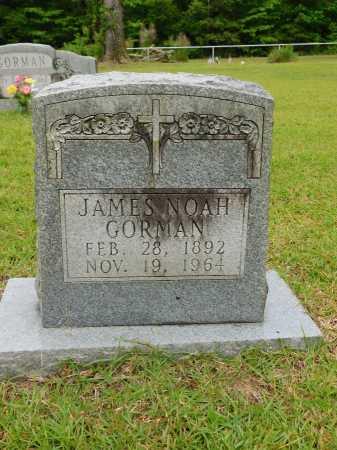 GORMAN, JAMES NOAH - Calhoun County, Arkansas | JAMES NOAH GORMAN - Arkansas Gravestone Photos
