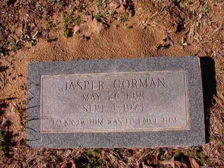 GORMAN, JASPER - Calhoun County, Arkansas | JASPER GORMAN - Arkansas Gravestone Photos