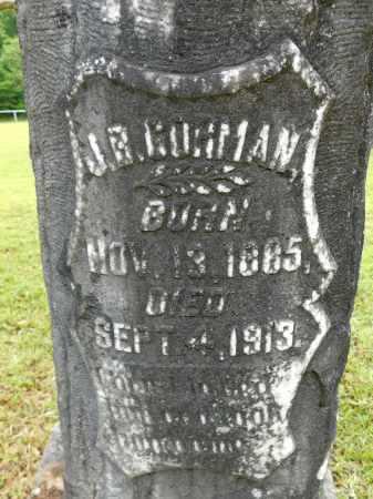 GORMAN, J B - Calhoun County, Arkansas | J B GORMAN - Arkansas Gravestone Photos