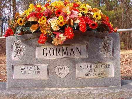 LOPER GORMAN, M LOUISE - Calhoun County, Arkansas | M LOUISE LOPER GORMAN - Arkansas Gravestone Photos