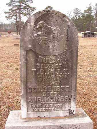 GRANT, BULAH - Calhoun County, Arkansas   BULAH GRANT - Arkansas Gravestone Photos
