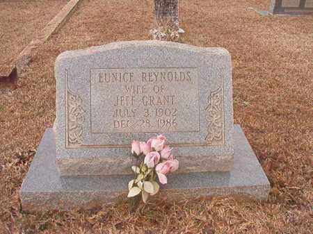 REYNOLDS GRANT, EUNICE - Calhoun County, Arkansas | EUNICE REYNOLDS GRANT - Arkansas Gravestone Photos