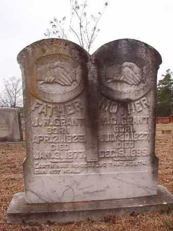 GRANT, MARTHA CAROLINE - Calhoun County, Arkansas | MARTHA CAROLINE GRANT - Arkansas Gravestone Photos