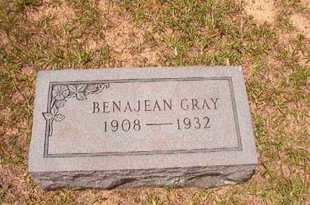 GRAY, BENAJEAN - Calhoun County, Arkansas | BENAJEAN GRAY - Arkansas Gravestone Photos
