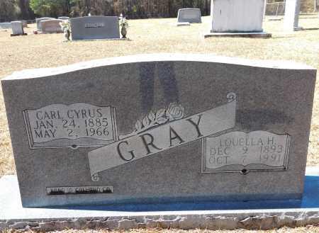 GRAY, LOUELLA H - Calhoun County, Arkansas | LOUELLA H GRAY - Arkansas Gravestone Photos
