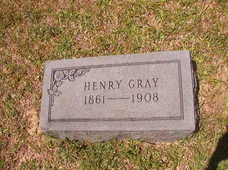 GRAY, HENRY - Calhoun County, Arkansas | HENRY GRAY - Arkansas Gravestone Photos