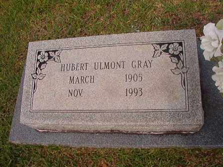 GRAY, HUBERT ULMONT - Calhoun County, Arkansas   HUBERT ULMONT GRAY - Arkansas Gravestone Photos