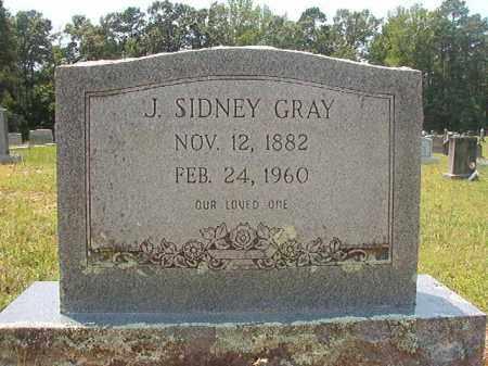 GRAY, J SIDNEY - Calhoun County, Arkansas | J SIDNEY GRAY - Arkansas Gravestone Photos