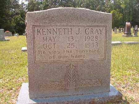 GRAY, KENNETH J - Calhoun County, Arkansas | KENNETH J GRAY - Arkansas Gravestone Photos