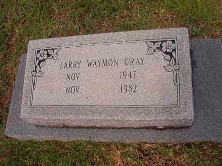 GRAY, LARRY WAYMON - Calhoun County, Arkansas   LARRY WAYMON GRAY - Arkansas Gravestone Photos