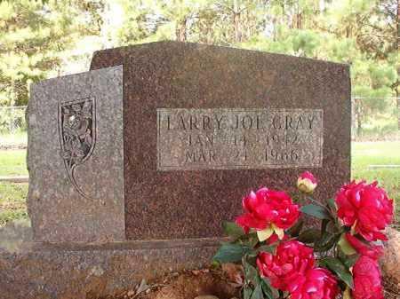 GRAY, LARRY JOE - Calhoun County, Arkansas | LARRY JOE GRAY - Arkansas Gravestone Photos