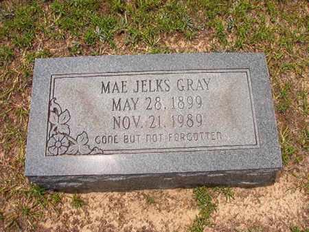 JELKS GRAY, MAE - Calhoun County, Arkansas | MAE JELKS GRAY - Arkansas Gravestone Photos